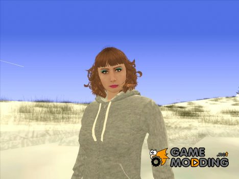 Female skin GTA Online для GTA San Andreas