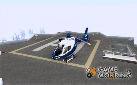 NYPD Eurocopter By SgtMartin_Riggs для GTA San Andreas