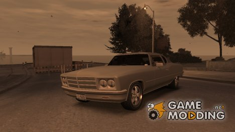 GTA 3 Yardie Lobo HD для GTA 4