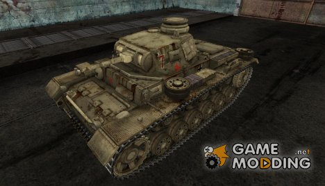 PzKpfw III от kirederf7 for World of Tanks