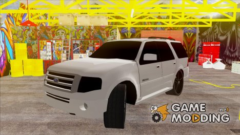 Ford Expedition Urban Rider Styling Kit by 3dCarbon 2008 для GTA San Andreas