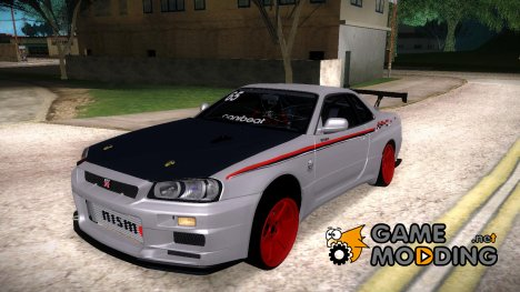 Nisssan Skyline R-34 for GTA San Andreas