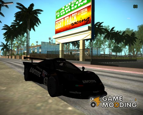 McLaren F1 GTR 1998 Loctite for GTA San Andreas