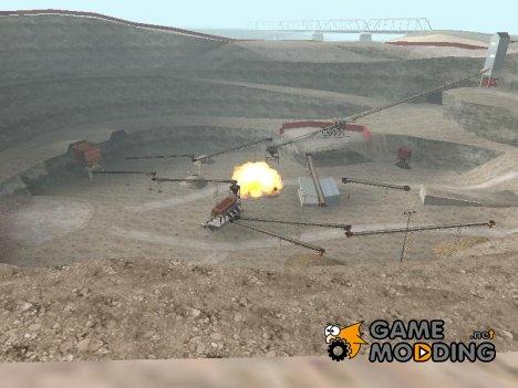 Кустарная бомба с таймером 15 сек for GTA San Andreas