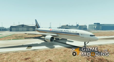 Boeing 777 TAM for GTA 5