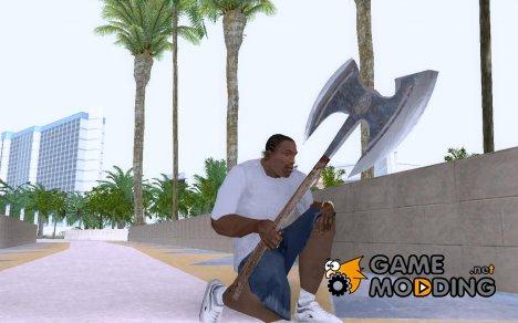 """Топор """"Камнедробилка"""" из игры """"Ризен"""" в HQ качестве для GTA San Andreas"""