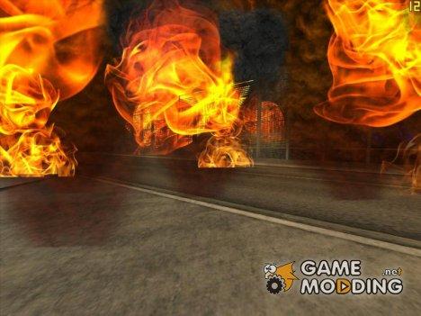 Сжигать город for GTA San Andreas