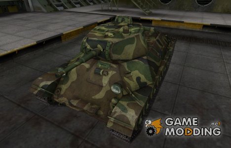 Скин для танка СССР Т-50 for World of Tanks