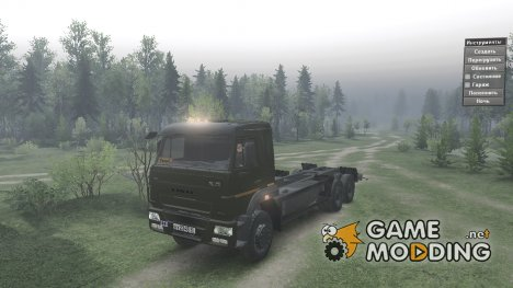 КамАЗ 65117 for Spintires 2014