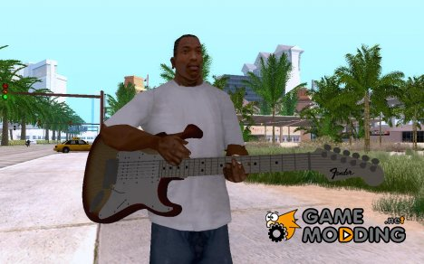 Fender VG Stratocaster for GTA San Andreas