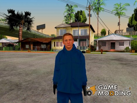 Daniel Craig  Winter Outfit for GTA San Andreas