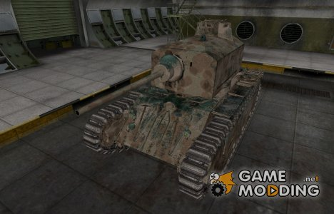 Французкий скин для ARL 44 для World of Tanks