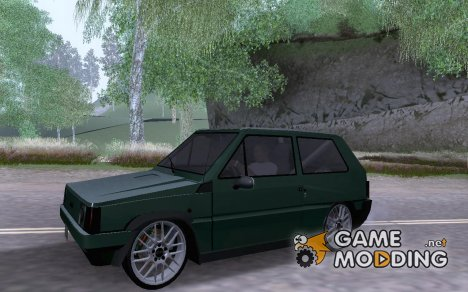 Fiat Panda Tuned for GTA San Andreas