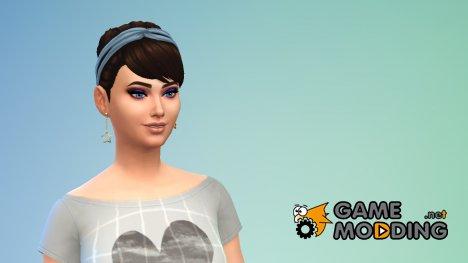 Серьги звезды для Sims 4