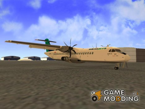ATR 72-500 WestJet Airlines for GTA San Andreas