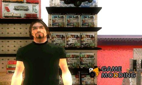 Диски из GTA в магазине Зеро для GTA San Andreas