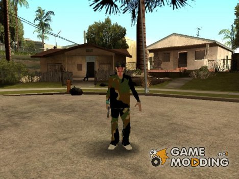 The Grove Street (fam2) для GTA San Andreas