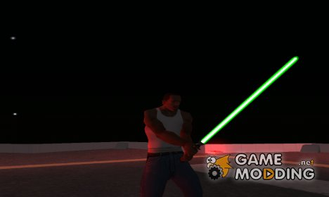 Световой меч Люка Скайуокера для GTA San Andreas