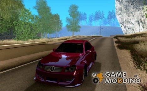 Mercedes-Benz CLK500 for GTA San Andreas