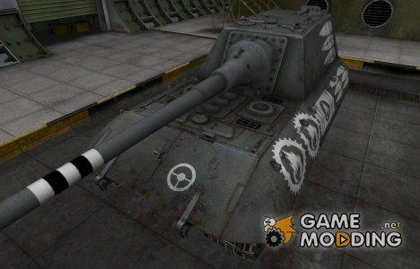 Зоны пробития контурные для JagdPz E-100 for World of Tanks