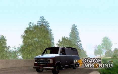 Transport Van (Newsvan Civil) for GTA San Andreas