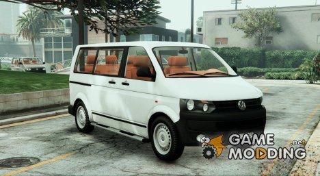 Volkswagen T5 2011 Facelift для GTA 5