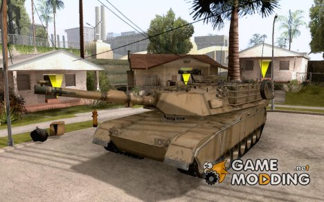 M1A2 Abrams MBT for GTA San Andreas