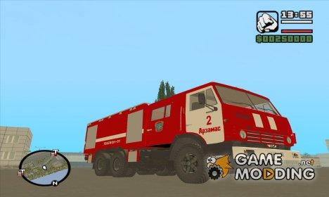 КамАЗ-53212 Пожарная машина города Арзамас для GTA San Andreas
