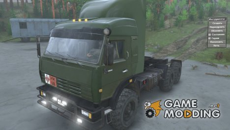 КамАЗ 44108 Military v 2.0 for Spintires 2014