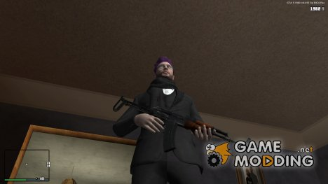 АКМС из PAYDAY2 для GTA San Andreas