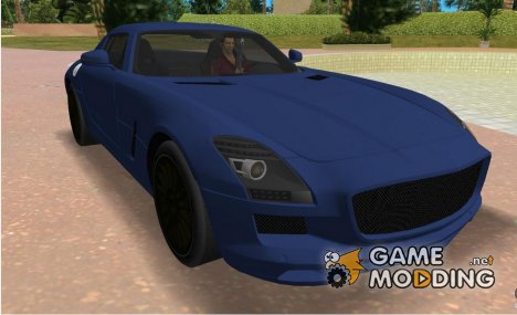 Mercedes-Benz SLS AMG V12 for GTA Vice City