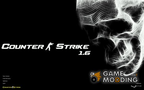 White skull для Counter-Strike 1.6