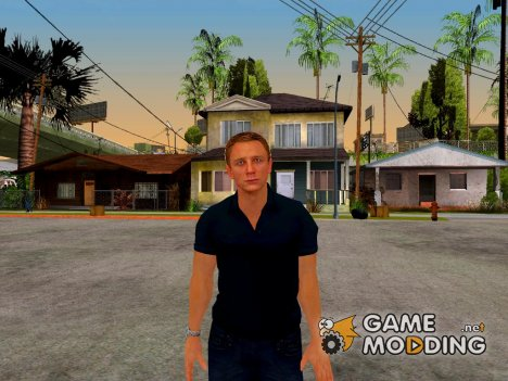 Daniel Craig First Outfit for GTA San Andreas