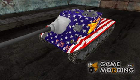 Шкурка для T-25 AT for World of Tanks