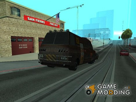 Автобус будущего для GTA San Andreas