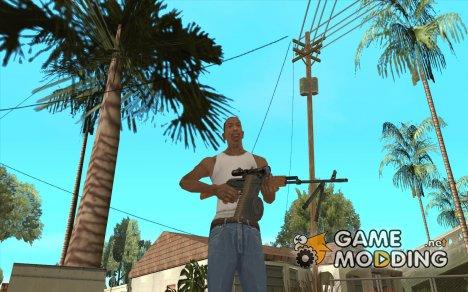 Переносной пулемет Калашникова для GTA San Andreas