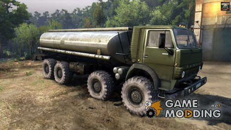 "КамАЗ 6350 ""Мустанг"" for Spintires 2014"
