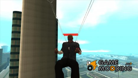 Parachute Animation Fix для GTA San Andreas