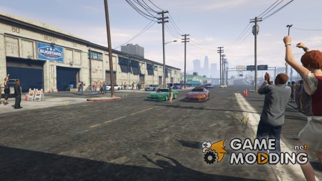 Drag Meets 1.5.2 for GTA 5