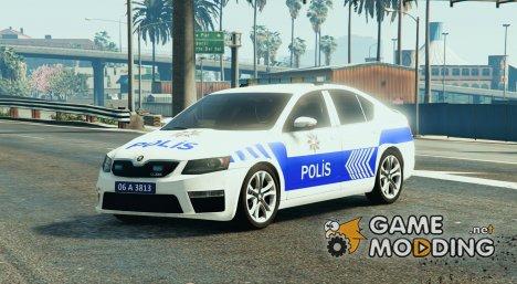 Škoda Octavia 2016 Yeni Türk Polis Arabası для GTA 5