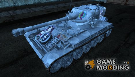 Шкурка для AMX 13 75 №20 for World of Tanks