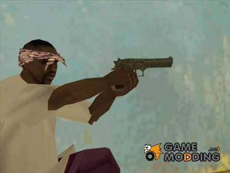 Desert Eagle GTA 4 (with icon) для GTA San Andreas