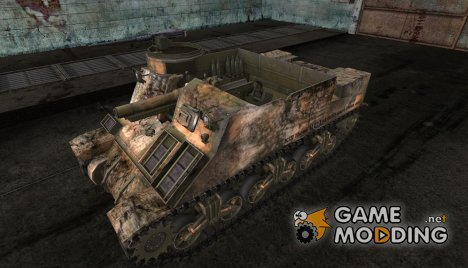 M7 Priest от Bluemax3x for World of Tanks