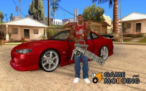 Прятать/доставать оружие в машине для GTA San Andreas
