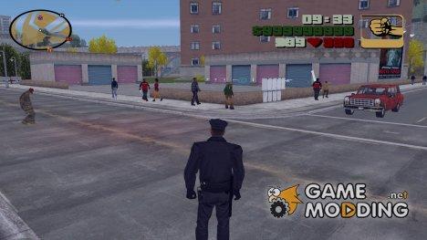 Hud Colors from SA для GTA 3