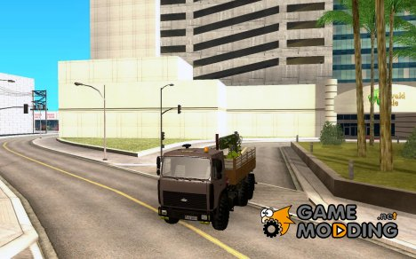 МАЗ 6317 манипулятор для GTA San Andreas