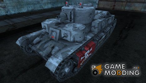 Шкурка для Т-28 для World of Tanks