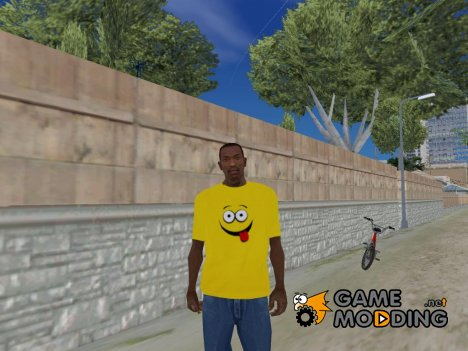Yellow shirt for GTA San Andreas