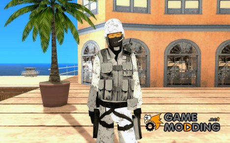 Зимний спецназ для GTA San Andreas