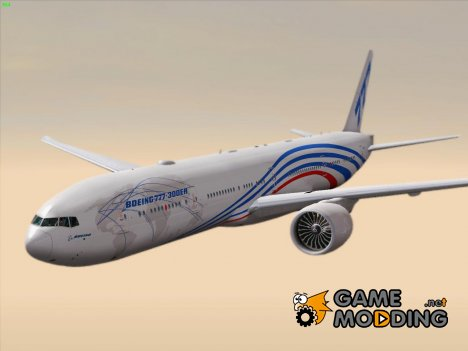 Boeing 777-300ER Boeing House Livery (777-300ER Prototype) for GTA San Andreas